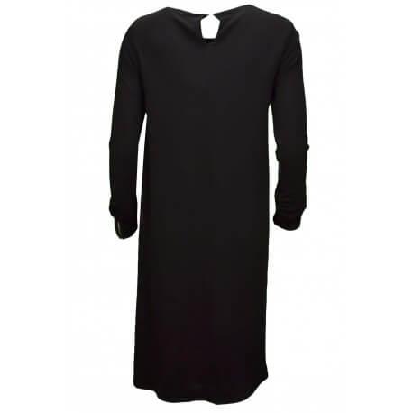 Robe manches longues Tommy Hilfiger Jahia noire pour femme aut/hiver