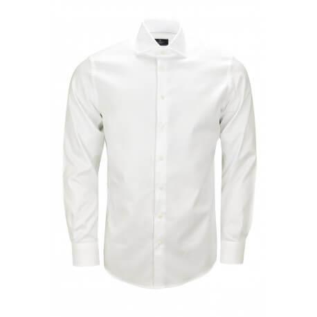 Chemise Hackett basique blanche pour homme