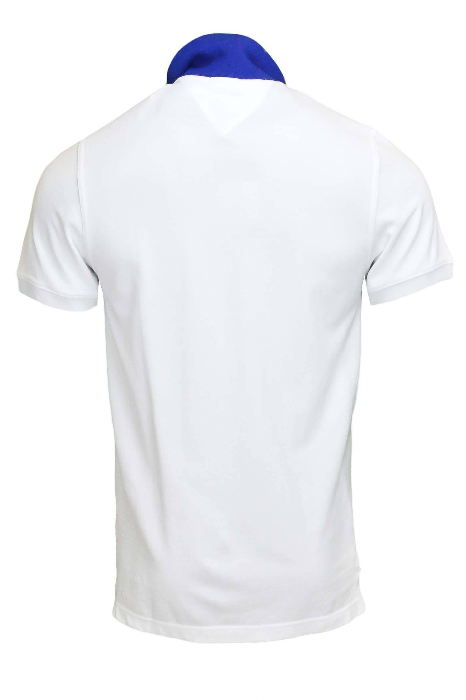 Polo Tommy Hilfiger Denim Badge Blanc