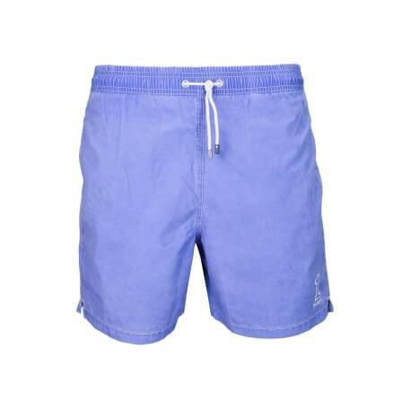 Short de bain Hackett Volley bleu pour homme