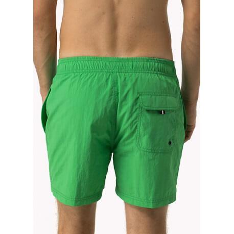 Short de bain Tommy Hilfiger Solid vert pour homme