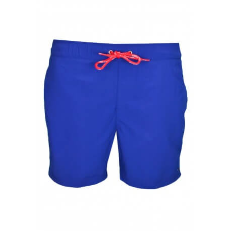 Short de bain Tommy Hilfiger Flag Swim bleu pour homme