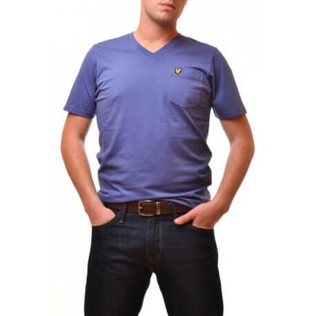 T-shirt Vintage - Bleu