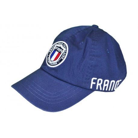 Casquette Ralph Lauren France bleu marine pour homme