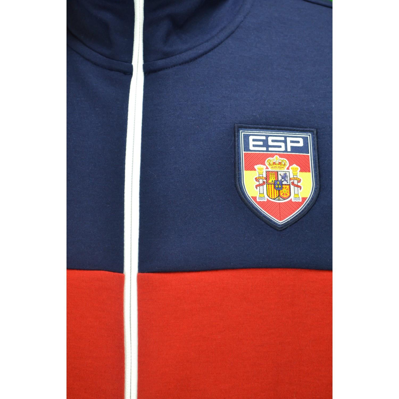 2 sur 5 Veste zippée Ralph Lauren Espagne bleu marine, rouge et blanche pour  homme b6f229f68b89
