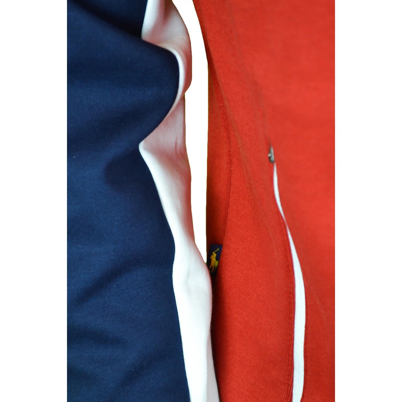 4 sur 5 Veste zippée Ralph Lauren Espagne bleu marine, rouge et blanche  pour homme 41392b842a3b