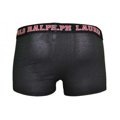 Boxer Ralph Lauren Big Pony noir pour homme