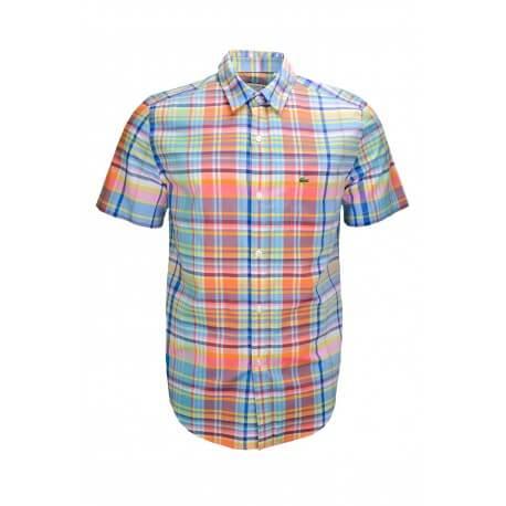 Chemise Lacoste multicolore pour homme