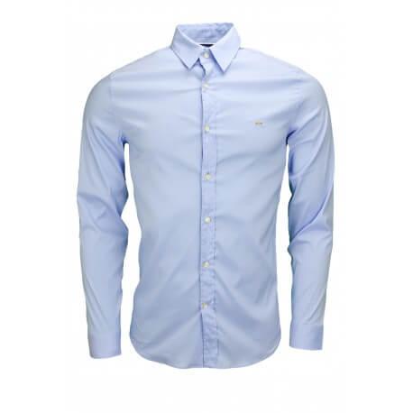 Chemise Lacoste bleu pour homme