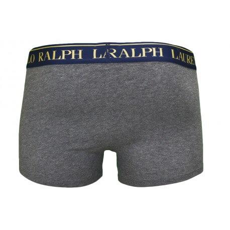 Boxer Ralph Lauren Big Pony gris et doré pour homme