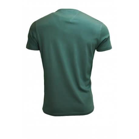 T-shirt col rond Tommy Hilfiger Dénim vert pour homme