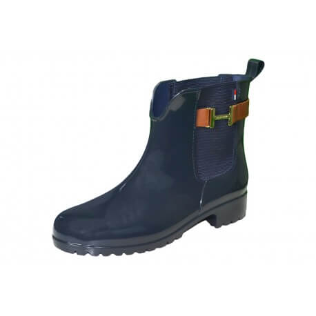Bottines Tommy Hilfiger Oxley bleu marine pour femme