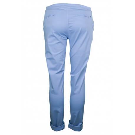 Pantalon chino Tommy Hilfiger Judy bleu pour femme