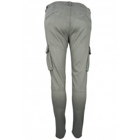 Pantalon Cargo Tommy Hilfiger skyler 7/8 kaki pour femme