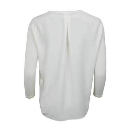 Pull Tommy Hilfiger en laine Barra crème pour femme