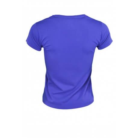 T-shirt Ralph Lauren col rond Holly bleu pour femme