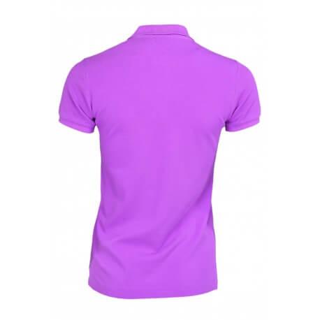Polo Ralph Lauren basique violet pour femme