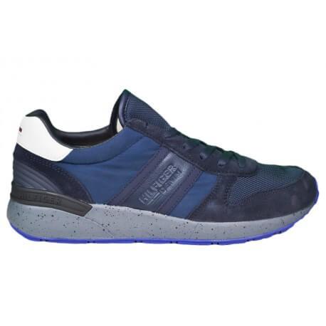 Baskets Tommy Hilfiger Track bleu marine pour homme