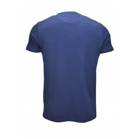 T-shirt Tommy Hilfiger basique pochette bleu marine pour homme