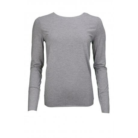 T-shirt manches longues Tommy Hilfiger Jada gris pour homme