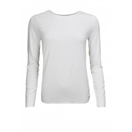 T-shirt manches longues Tommy Hilfiger Jada blanc pour femme