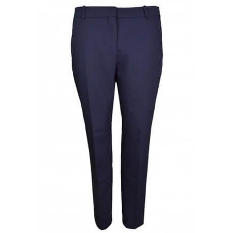 Pantalon longueur cheville Tommy Hilfiger Fairy bleu marine pour femme