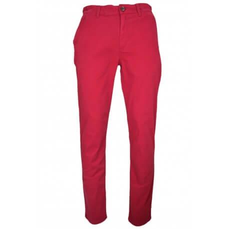Pantalon chino Tommy Hilfiger Freddy rouge bordeaux pour homme