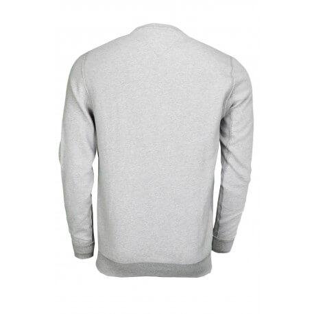 Sweat col rond Tommy Hilfiger Logo gris pour homme