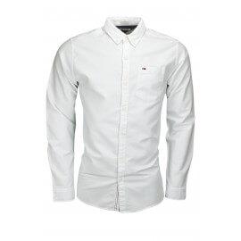 Chemise Tommy Hilfiger basique blanche pour homme