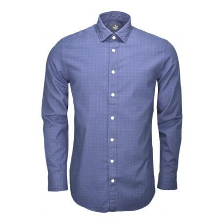 Chemise Hackett bleu marine pour homme