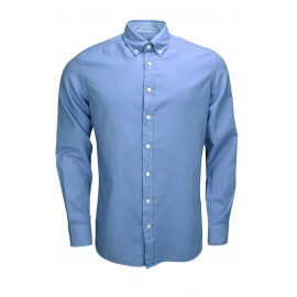 Chemise Hackett Oxford bleue pour homme