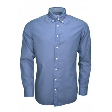 Chemise Hackett basique bleu marine pour homme