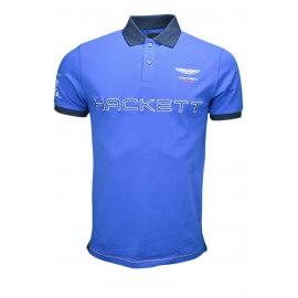Polo Hackett Aston Martin bleu pour homme