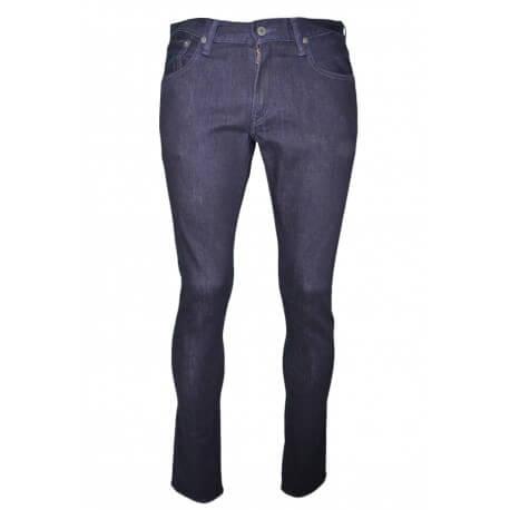 Jean slim Ralph Lauren bleu foncé pour homme