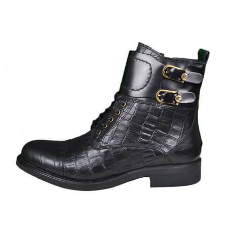 Bottines boots Tommy Hilfiger Bologna noire pour femme
